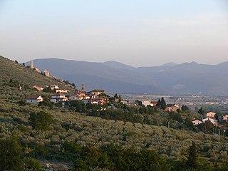 Pigge Frazione in Umbria, Italy
