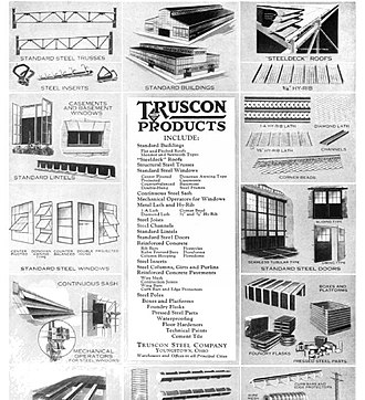 Trussed Concrete Steel Company - Truscon products 1918