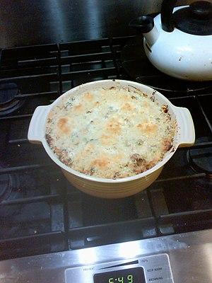 Tuna casserole - Tuna casserole just out of the oven
