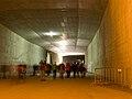 Tunel Blanka, podzemí u Špejcharu.jpg