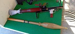 Type 69 RPG Anti-tank, anti-personnel, RPG