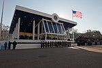 U.S. Army Band awaits President Obama's arrival 130121-Z-QU230-172.jpg