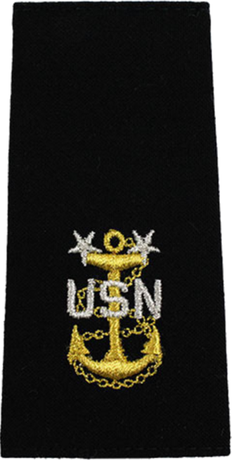 Master chief petty officer - Image: U.S. Navy E9 shoulderboard