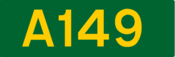 A149 road shield