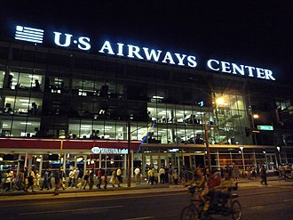 Talking Stick Resort Arena - Entrance of then-US Airways Center in 2008