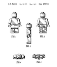 First patent release of the LEGO figures