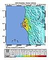 USGS Shakemap - 1992 Cape Mendocino earthquake.jpg