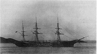 Screw sloop - USS Alaska, a screw sloop