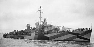 USS Ault - Image: USS Ault (DD 698)