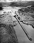 USS Bataan (CVL-29) on the Panama Canal 1945.jpg