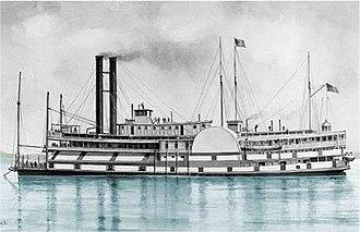 USS Black Hawk (1848) - Image: USS Black Hawk CW01