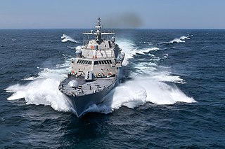 USS <i>Detroit</i> (LCS-7) Freedom-class littoral combat ship of the US Navy