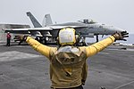 USS Harry S. Truman conducts flight operations. (26832291634).jpg