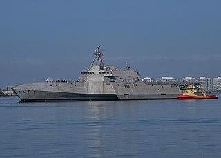 USS <i>Kansas City</i> (LCS-22) Independence-class littoral combat ship
