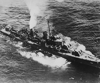 USS Laffey (DD-724) - Laffey during World War II