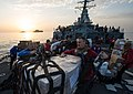 USS Mitscher conducts a replenishment-at-sea.jpg
