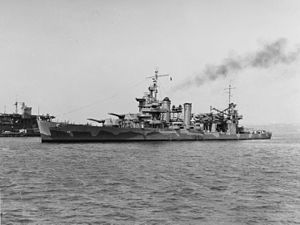 USS Quincy (CA-39) in New York harbour on 23 May 1942 (19-N-30732).jpg