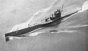 United States Submarine S-46 underway in 1925