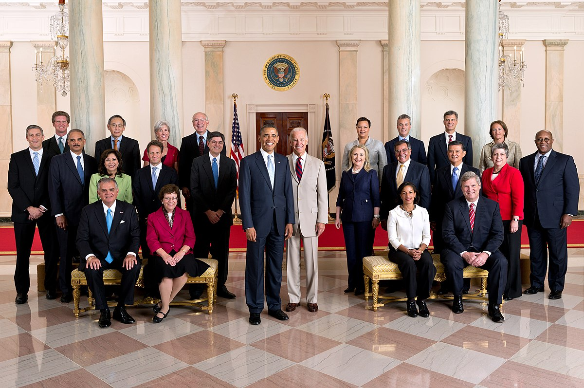 Obama And Cabinet Confirmations Of Barack Obamas Cabinet Wikipedia