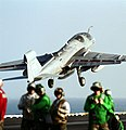 US Navy 011109-N-1328C-011 EA-6B Powler launches from flight deck.jpg