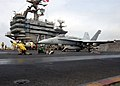 US Navy 020826-N-2147L-001 Hornet launches from USS Washington.jpg