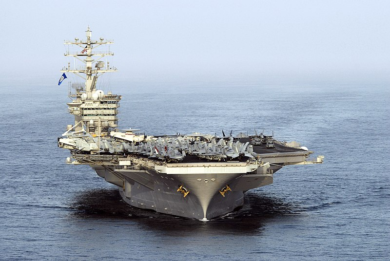 File:US Navy 070522-N-8157C-820 USS Nimitz (CVN 68) transits through the Gulf of Oman.jpg
