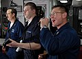 US Navy 080126-N-7981E-061 Sailors aboard USS Momsen (DDG 92) perform in a ship's band.jpg