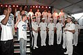 US Navy 080722-N-7975R-003 Rear Adm. Joseph F. Campbell, U.S. Fleet Forces Command, presides over an oath of enlistment ceremony.jpg
