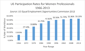 US Participation Rates for Women Professionals 1966-2013.png