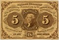 US Postal Currency 5 cent 1862 front 720a.tif