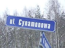 Ulica Cynamonowa, Gdynia - 001.JPG