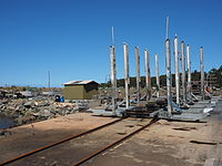 The slipway in Ulladulla