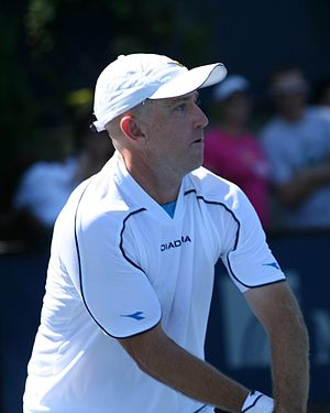 Kevin Ullyett - Image: Ullyett 2009 US Open 01