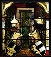 Ulmer Münster Fenster Neithardtkapelle 3 Wappen Besserer Roth.jpg