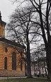 Ulmus 'Purpurea'. Hedvig Eleonora kyrka 2014 10.jpg