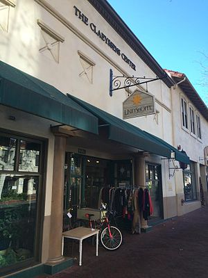 Pearl Chase - The Unity Shoppe, on State Street in Santa Barbara, is derived from a charitable group founded by Chase.