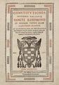 Universidad de Alcalá (1716) Constitutiones Insignis Collegij Sancti Ildephons.png