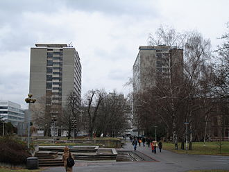 University of Stuttgart - Image: Universität Stuttgart (Stadtmitte) 002