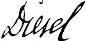 Rudolf Diesel - Image: Unterschrift Rudolf Diesel