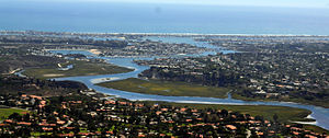 History of Newport Beach, California - Upper Newport Bay, Newport Beach CA January 2013