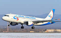 Airbus A320 linii Ural Airlines