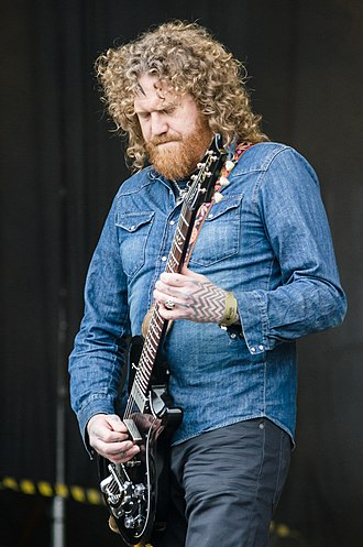 Brent Hinds - Hinds at Ursynalia 2012 Festival, Warsaw, Poland