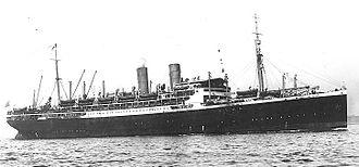 Orient Steam Navigation Company - Norddeutscher Lloyd's D/S ''Zeppelin'', later Orient Line's SS Ormuz