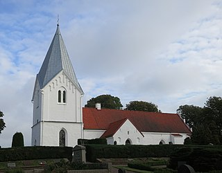 Västra Ingelstad Church church building in Vellinge Municipality, Skåne County, Sweden