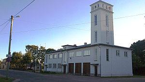Võhma - Image: Võhma linnavalitsuse hoone