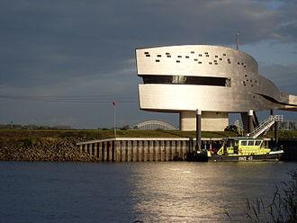 Vessel traffic service - VTS Nijmegen, monitoring the river Waal