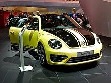 Vw Beetle Gsr At Frankfurt Motor Show 2017