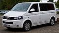 VW Multivan Business (T5, Facelift) – Frontansicht, 30. August 2014, Düsseldorf.jpg