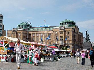 Ostrobothnia (region) - Image: Vaasa Market Square 01