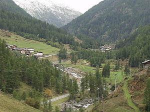 Valsavarenche - Image: Valsavarenche